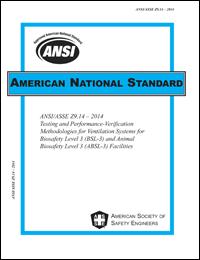 ANSI/ASSE Z9.14 Standard