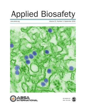 Applied Biosafety v21n3